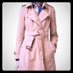 Burberry Long Trench size 8 US.
